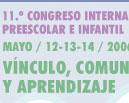 11º CONGRESO INTERNACIONAL DE ED.PREESCOLAR E INFANTIL